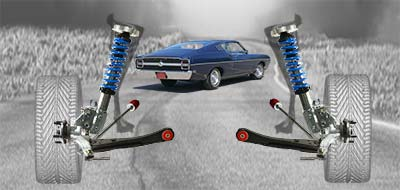 Torino Coil Over Front Suspension Height Adjustable Negative Camber Gain